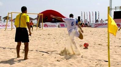 Beach Soccer : Les plus belles actions du tournoi d'Hammamet