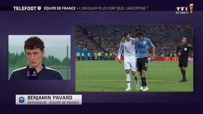 """Benjamin Pavard : """"Messi, Cavani ? On n'a peur de personne"""""""