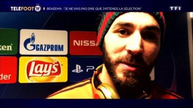 """Benzema : """"Je ne vais pas dire que j'attends la sélection"""""""
