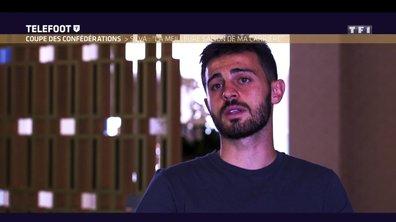 """Coupe des confédérations - Bernardo Silva : """"Ma meilleure saison"""""""