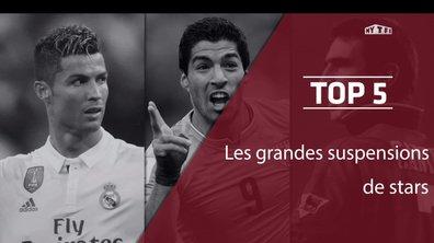 Cantona, Zidane, Suarez : Les grandes suspensions des stars du foot