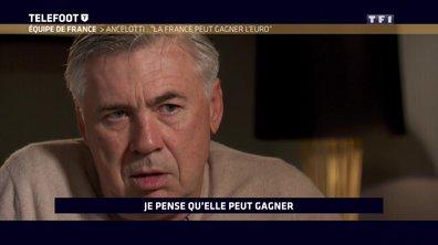"""Carlo Ancelotti : """"La France peut gagner l'Euro 2016"""""""