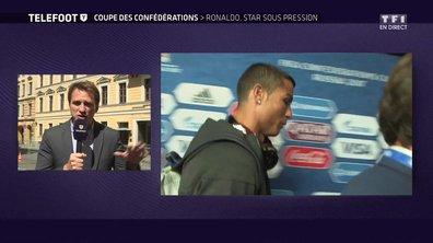 Cristiano Ronaldo protégé par ses coéquipiers !