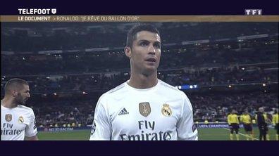 Cristiano Ronaldo : « Je rêve du Ballon d'or »