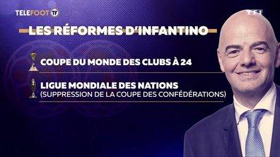 De nouvelles compétitions internationales ? Découvrez les réformes de Gianni Infantino
