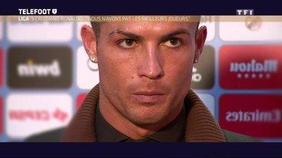 Les déclarations hallucinantes de Cristiano Ronaldo après Atlético Madrid-Real Madrid
