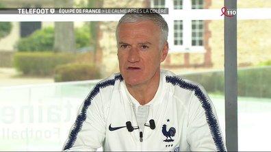 """Didier Deschamps : """"Coup de gueule ? J'ai dit ce que j'avais à dire"""""""