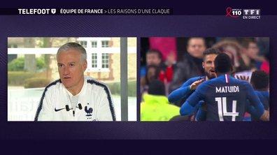 """Didier Deschamps prévient: """"Le Pérou? C'est des morts de faim"""""""