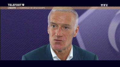 Didier Deschamps rend hommage à Rudi Garcia