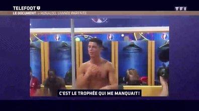 [Téléfoot 11/12] Le discours de Cristiano Ronaldo après la victoire à l'Euro