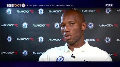 """Drogba : """"Marseille c'est vraiment spécial"""""""