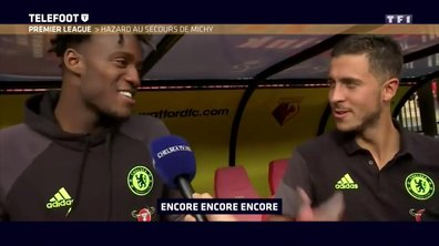 Quand Eden Hazard se moque de l'anglais de Michy Batshuayi