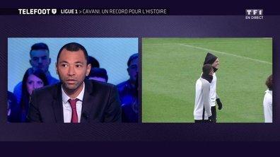Edouard Cissé analyse le record de buts de Cavani