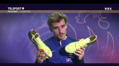 [Téléfoot 01/04/2018] Addition du Fast Foot : Gagnez les chaussures d'Antoine Griezmann
