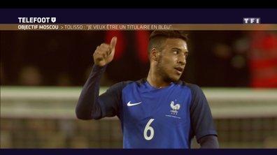 """[Exclu Téléfoot 28/01] – Tolisso : """"Mon objectif ? Aller à la prochaine Coupe du monde"""""""