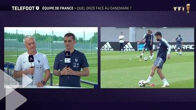 Equipe de France : Quel onze face au Danemark ? Les précisions de Didier Deschamps