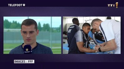 Equipe de France : Antoine Griezmann revient sur la visite de Patrice Evra à Istra
