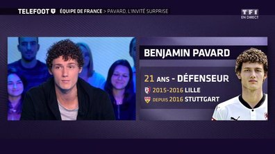 Equipe de France, Benjamin Pavard, l'invité surprise