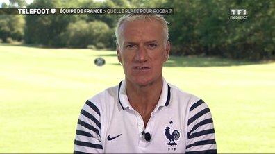 Equipe de France : duplex avec Deschamps