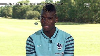 Equipe de France : duplex avec Paul Pogba
