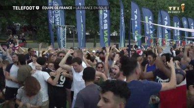 Equipe de France : La France en folie
