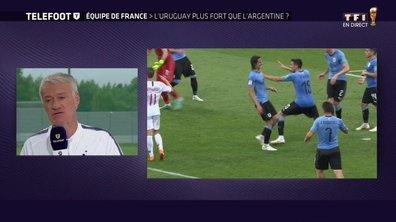 Equipe de France : L'Uruguay plus fort que l'Argentine ?