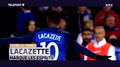 Equipe de France : Lacazette marque les esprits