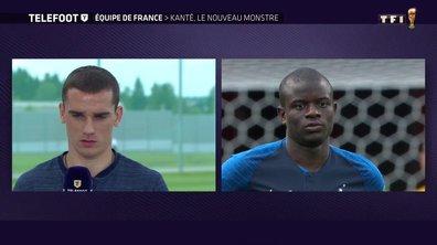 Equipe de France - N'Golo Kanté, le nouveau monstre