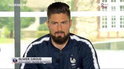 """Equipe de France - Olivier Giroud : """"Une fierté de faire partie de ces légendes du foot français"""""""