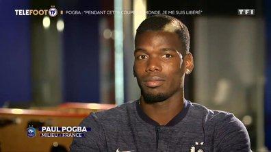 """Equipe de France - Pogba : """"Pendant cette Coupe du monde, je me suis libéré"""""""