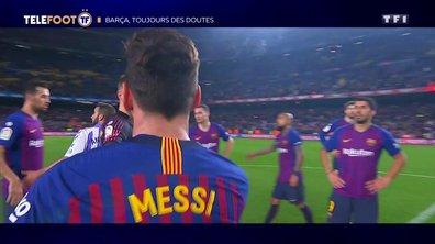 Barça, toujours des doutes