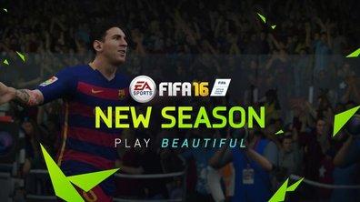 FIFA 16 : Le trailer de la Gamescom