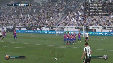 FIFA 17 : Le nouveau système de coups-francs