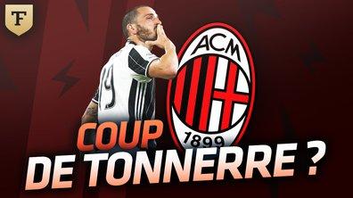 Le Flash Mercato du 13 juillet : Bonucci vers l'AC Milan ? Mahrez intéresse la Roma