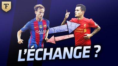 Le Flash Mercato du 28 juillet : Vers un échange Rakitic-Coutinho ?