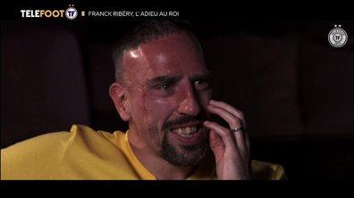 Franck Ribéry, l'adieu au roi