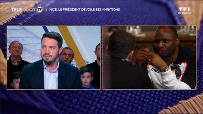 """OGC Nice - Ganaye : """"Patrick Vieira est à fond dans le projet"""""""