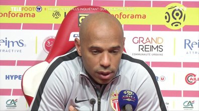 """AS Monaco - Thierry Henry : """"C'est plus inquiétant que les autres fois"""""""