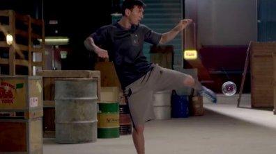 Insolite : Messi jongle avec des bulles de savon !