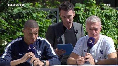 Instant T : Le Oui/Non avec Kylian Mbappé et Didier Deschamps