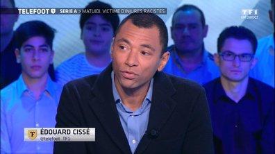 """Insultes racistes - Edouard Cissé : """"On est affecté, ça perturbe"""""""
