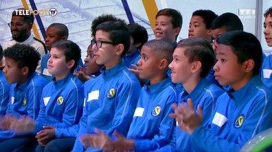 Les jeunes de FC Villepinte et l'US Alençon invités de Téléfoot