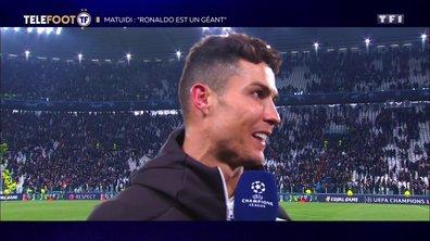 "Juventus - Blaise Matuidi : ""Cristiano Ronaldo est un géant"""