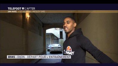 Téléfoot, l'After - 24H avec le Dijonnais Wesley Saïd
