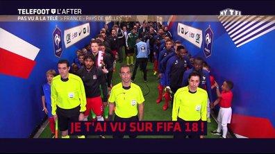 Téléfoot, l'After - Pas vu à la télé: France - Pays de Galles