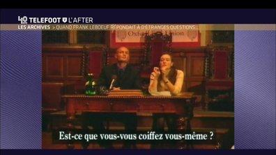 Téléfoot, l'After - Les archives : Quand Leboeuf répondait à d'étranges questions...