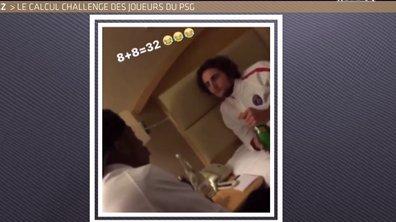 Téléfoot, l'After - Le Buzz : Le calcul challenge des joueurs du PSG