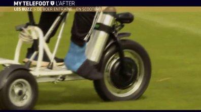 MyTELEFOOT L'After - Le Buzz : De Boer entraîne en scooter