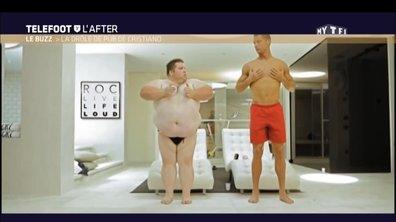 Téléfoot, l'After - Le Buzz : La drôle de pub de Cristiano Ronaldo