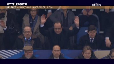 MyTELEFOOT L'After - Le Buzz : François Hollande fait la ola au Stade de France !